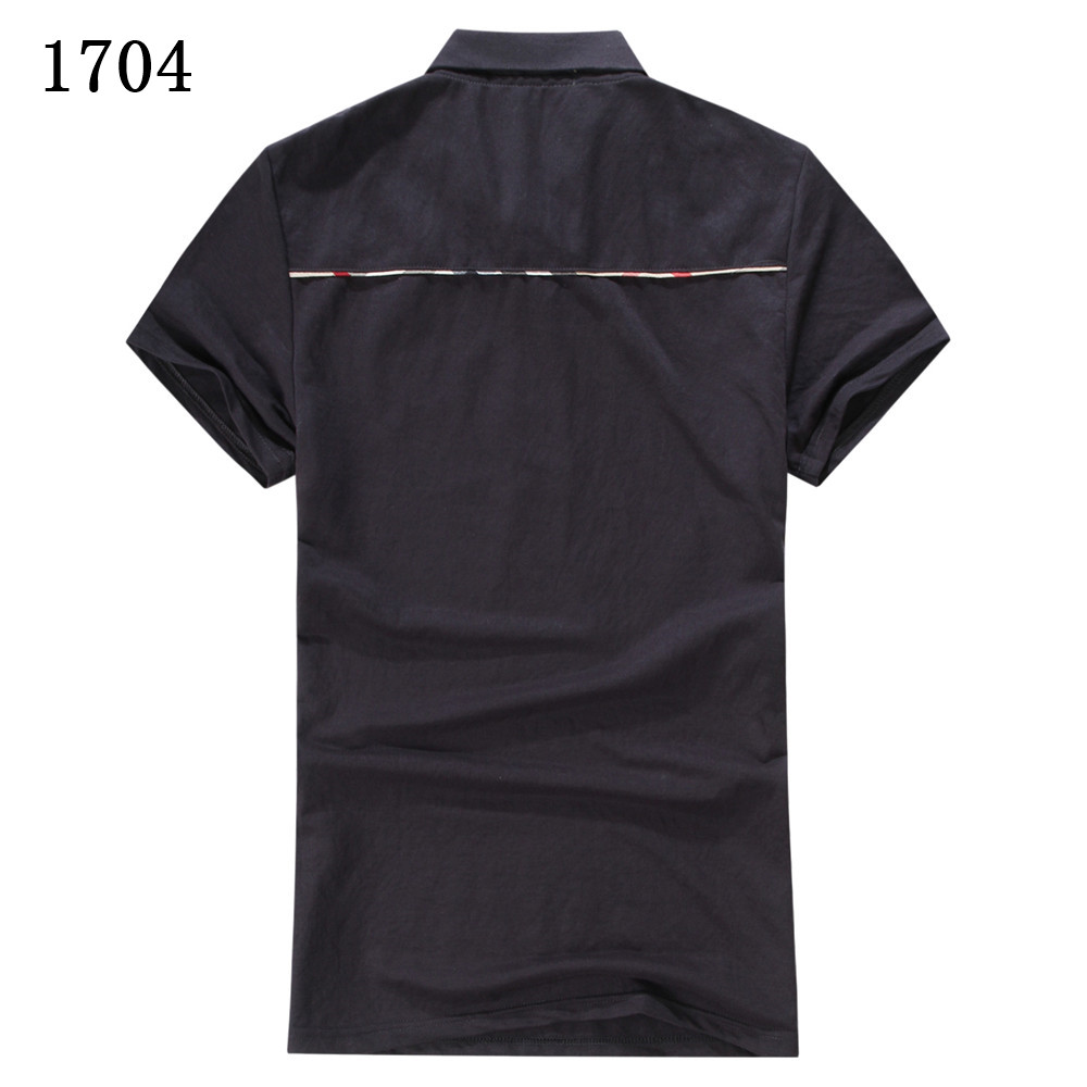 Burberry t shirts short sleeved polo for men 286633 Wholesale polo t shirts